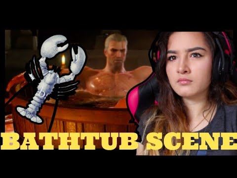 The Witcher 3: THE BATHTUB SCENE reaction D: