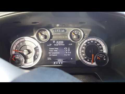 AMSOIL 15w-40 Heavy Duty Diesel oil Cold Start 2016 Cummins