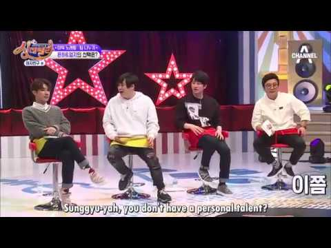 Sunggyu's wink attack (Eng Sub)
