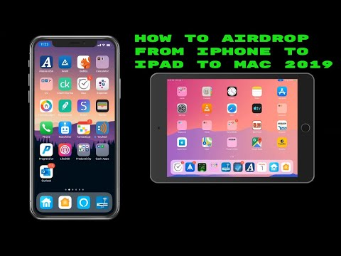 how to air drop from iphone to ipad to mac 2019
