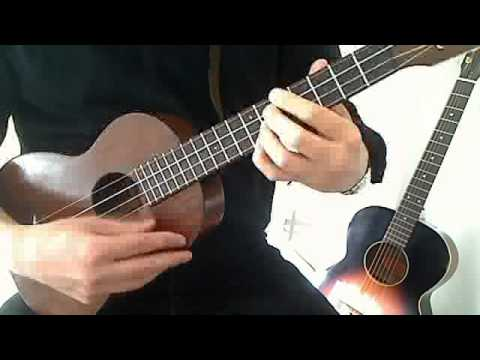 Somewhere Over The Rainbow Ukulele Chord Melody Solo Ukulele Youtube