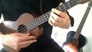 Somewhere Over the Rainbow Ukulele Chord Melody (Solo Ukulele)