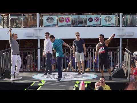 Crash (HD) - NKOTB Cruise 2017 Sail Away Party