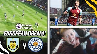 Europa league is happening!! - burnley 2-1 leicester vlog!!