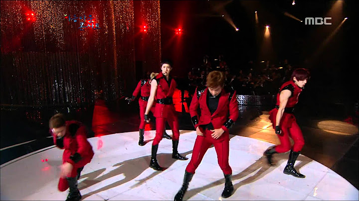 mblaq  this is war    beautiful concert 20120214