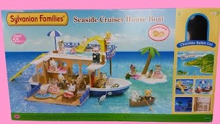 Seaside Crusier House Boat Sylvanian Families