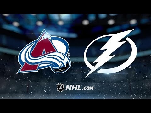 Colorado Avalanche vs Tampa Bay Lightning | Dec.8, 2018 | Game Highlights | NHL 2018/19 | Обзор