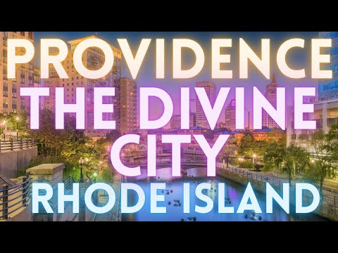 Providence Rhode Island Virtual Tour 4K