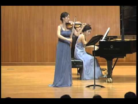 Brahms, Ⅰ Allegro, Sonata for Piano and Violin No.3 in D Minor, Op.108