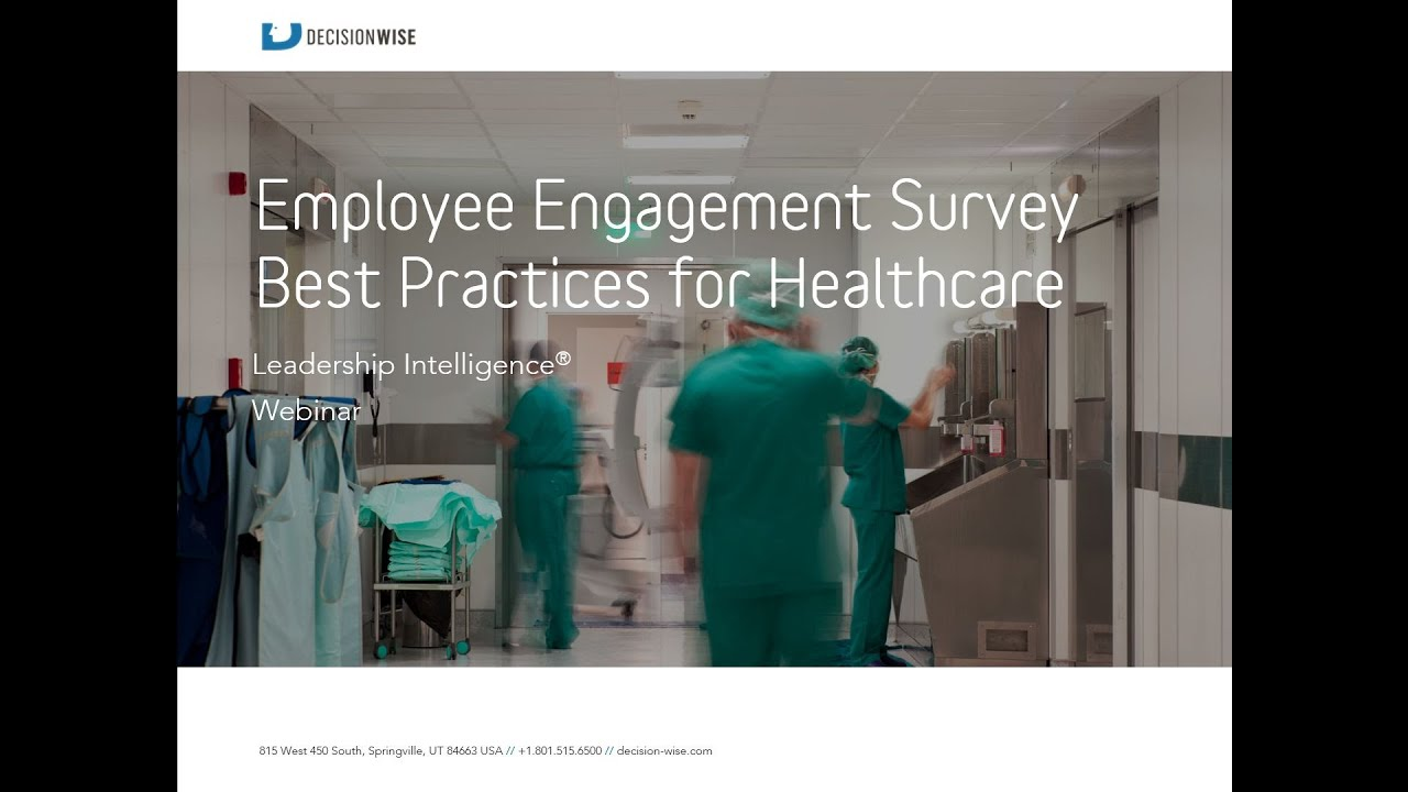 employee surveys best practices employee engagement survey best practices for hospitals 1042