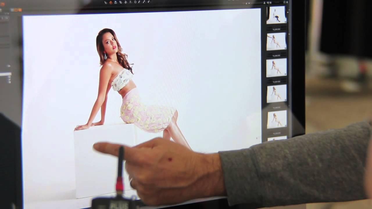 Behind-the-Scenes: Jessica Alba Photo Shoot