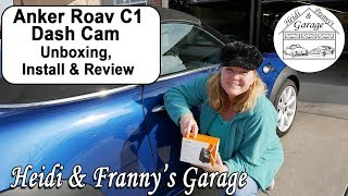 ANKER ROAV DASH CAM C1 Unboxing, Install & Product Review (2017)