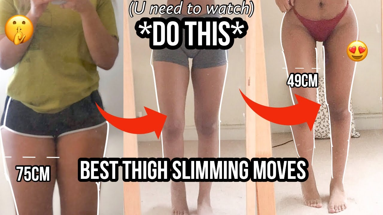 Top exercises to slim legs and thighs  (these will drastically change your ENTIRE thighs)