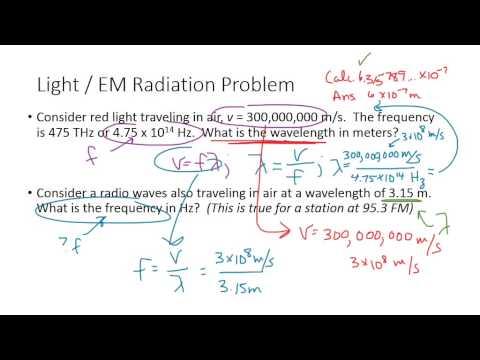 PHS120 EM Radiation Light Waves