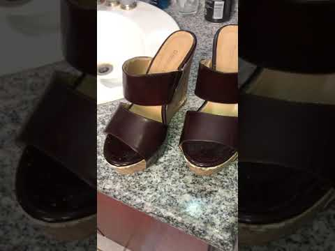 Closeup of wellworn Wedges by Daves Channel