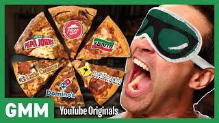 link blind fast food pizza taste test