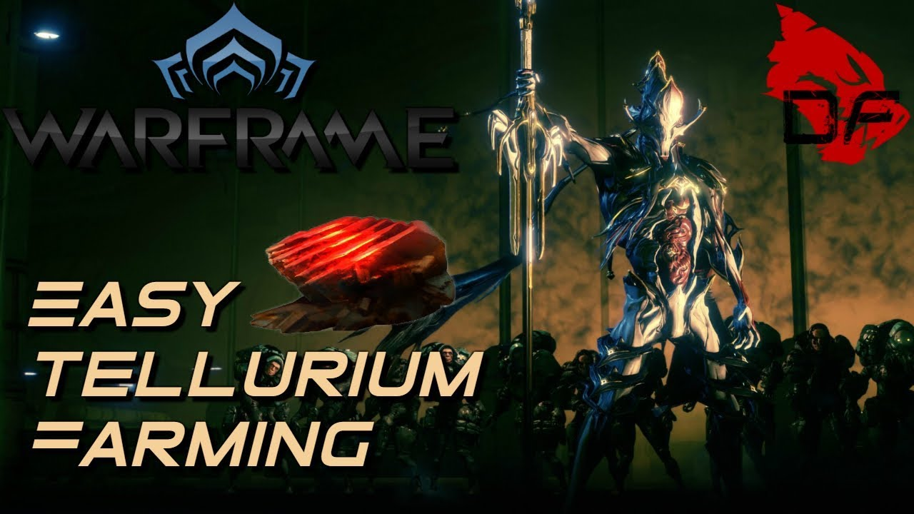 Warframe Easy Tellurim Farming No Archwing Youtube The most efficient way to farm resources is with a resource booster and a nekros/nekros prime in a full team. warframe easy tellurim farming no archwing