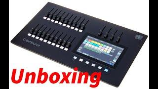 ETC Color Source 20 AV unboxing Lighting Desk Lichtpult RDM Controller