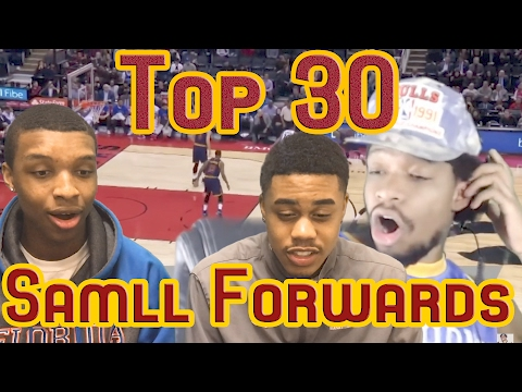 REACTING TO OPRAH SIDEVERSON REACTING TO RANKING EVERY SMALL FORWARD IN THE NBA!!!
