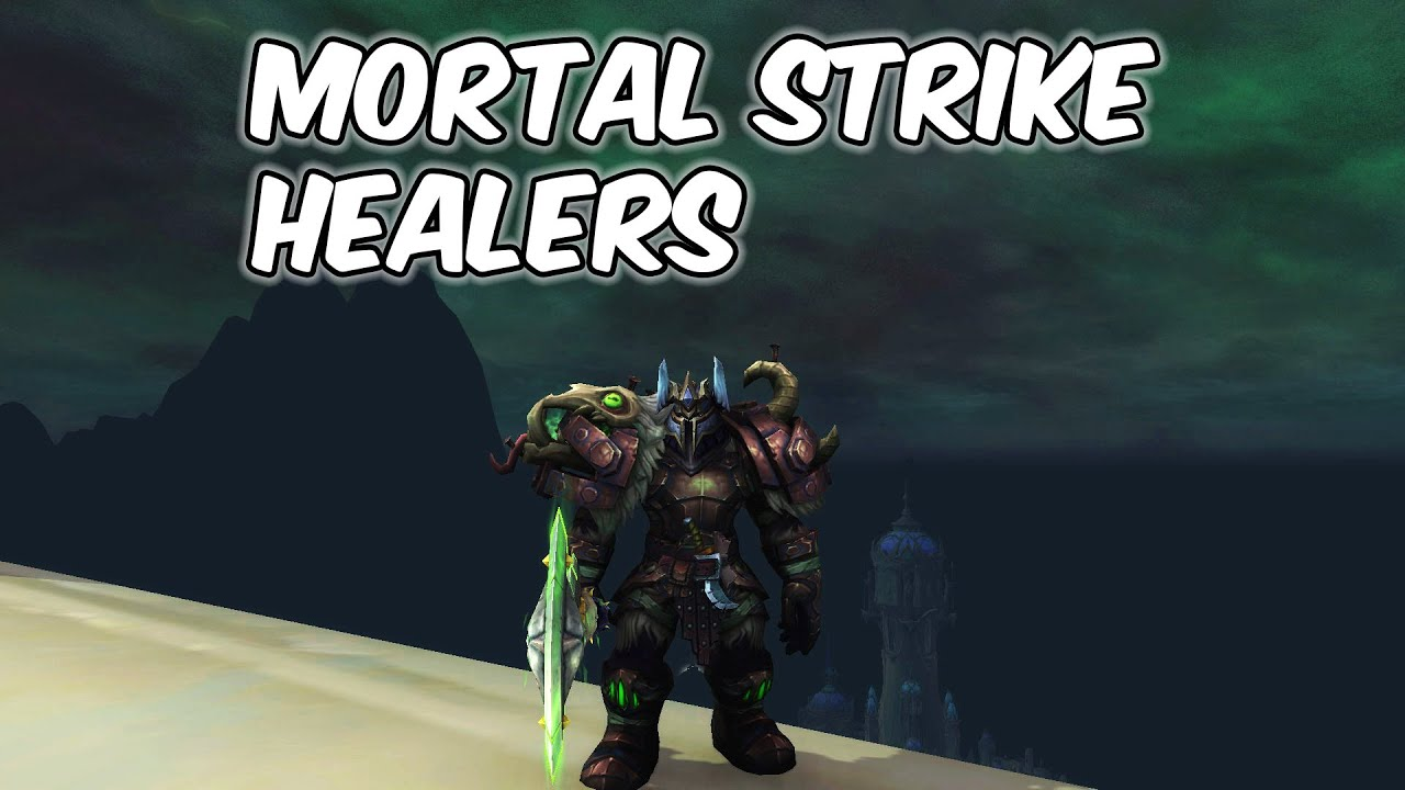 MORTAL STRIKE HEALERS - Arms Warrior PvP - WoW Shadowlands 9.0.2