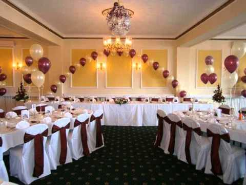 Wedding banquet hall decorations picture ideas for stage for Small dining hall decoration