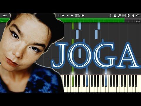 BJÖRK - JOGA (Piano) - SYNTHESIA