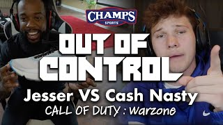 Out of Control | Jesser VS Cash Nasty in COD: Warzone | Season 2 | Champs Sports #outofcontrol #cod
