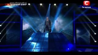 Х-Фактор 2. Виктор Романченко 2 песня - эфир 24.12.2011