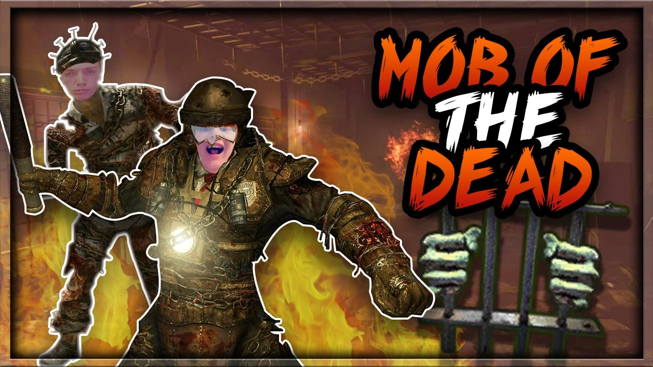 Download MOB OF THE DEAD EASTER EGG LIVE! W/ItsThePanther   INTERACTIVE STREAMER (Black Ops 2 Zombies)