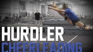 How to do a Hurdler | Cheerleading Tutorial