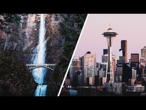 PORTLAND to SEATTLE — Travel Photography West Coast Road Trip