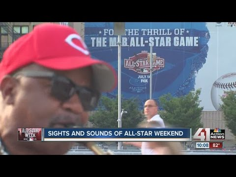 Sights and sounds of Cincinnati for All-Star Game Weekend