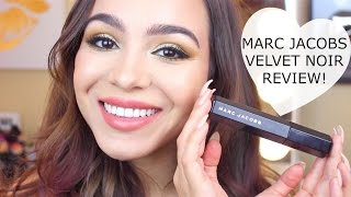 Marc Jacobs Velvet Noir Mascara Review + Demo!
