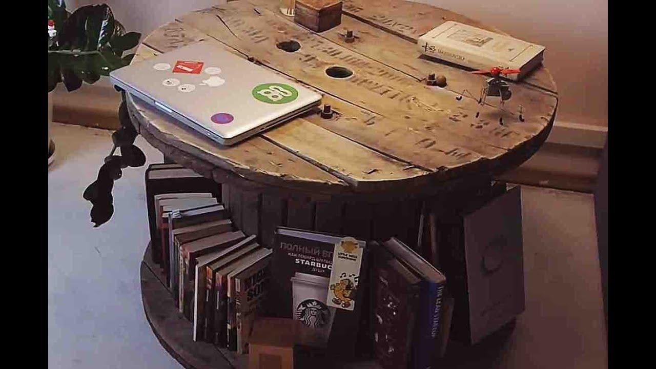 Журнальный столик в стиле лофт | Лайфхакер