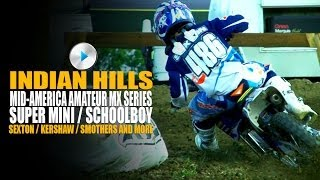 Indian Hills MX Supermini / Schoolboy 1 MAMS Round 3