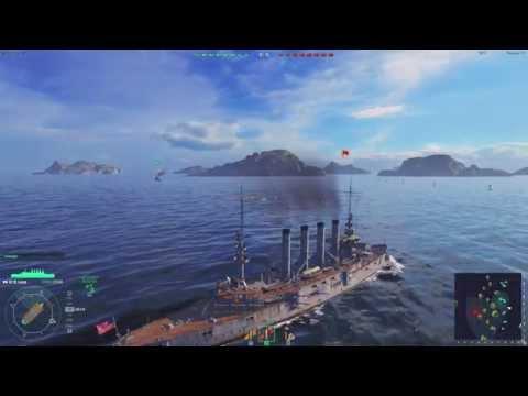 World of Warships / Морские сражения / Бой на крейсере St. Louis
