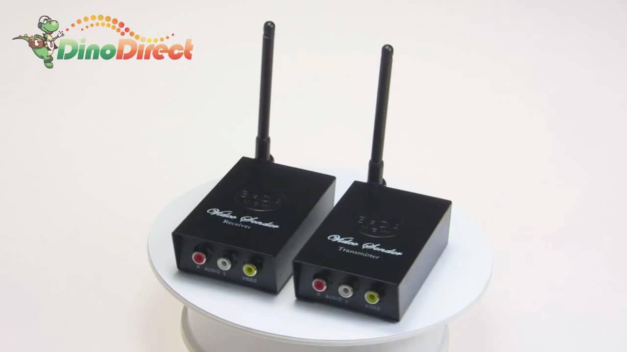 2 4ghz Wireless Audio Video Transmitter Receiver