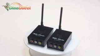 2.4GHz Wireless Audio / Video Transmitter & Receiver
