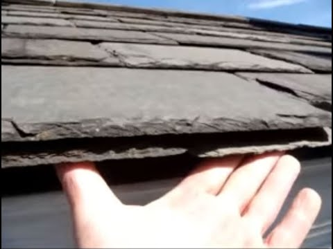 Slate Roof Installation Mistake: No Cant Strip on the Starter Course