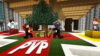 Who Can Collect The Most?   Minecraft Lucky Gift PVP