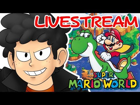 BEST GAME OF ALL TIME! - Super Mario World - Session #1