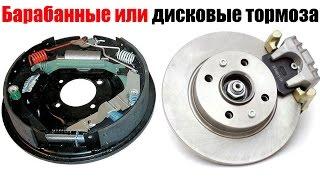 Барабанные или дисковые тормоза. Что лучше? Просто о сложном