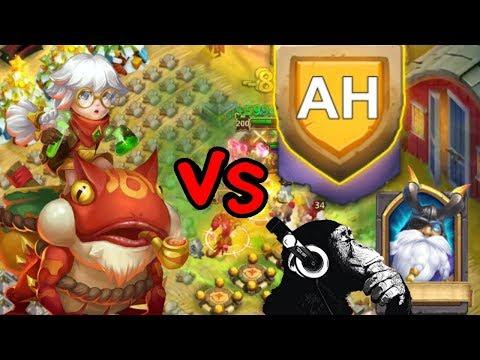 Castle Clash New Hero | Professor Ribbit | Hbm AH | Hero Trails L20