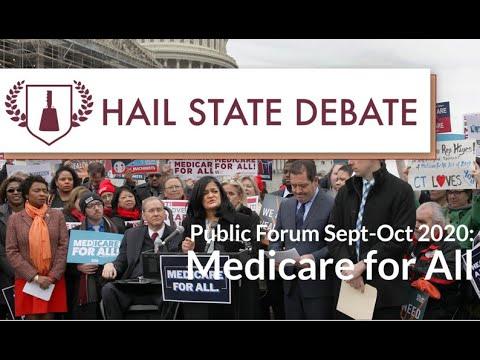 Public Forum - Sept-Oct 2020 - Medicare-For-All