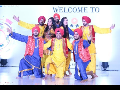 Best Bhangra Performance by Tavant Employees @ Tavant Excellence Awards Night 2017
