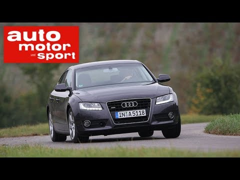 Test Audi A5 Sportback und VW Passat CC (auto motor und sport TV)