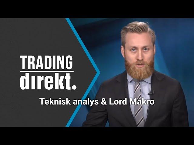 Trading Direkt 2020-10-13: Teknisk analys, norsk fisk & tittarönskemål!