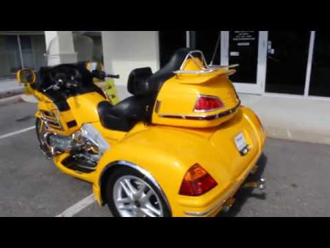 Repeat 2002 Honda Goldwing 1800 Trike For Sale - Ride Pro by