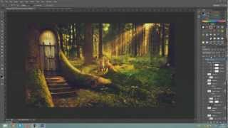 Fairytale speedart in Photoshop CS6 (Dutch speedart) [HoeGaatDat]