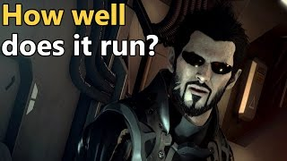 Deus Ex Mankind Divided PC Performance Review